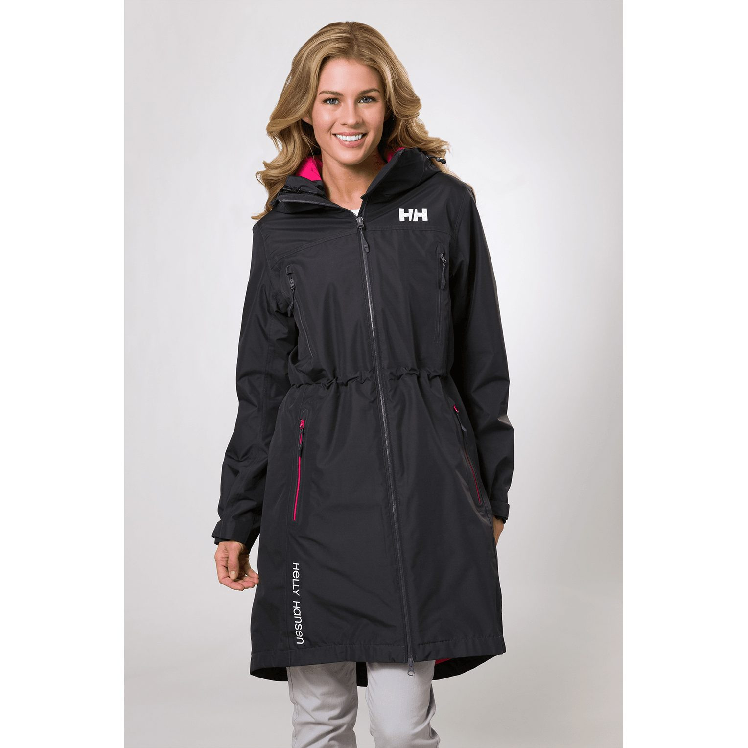 Helly Hansen Womens Rigging Hooded Insulated Waterproof Windproof Breathable Long Length Parka Coat