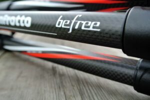 Manfrotto BeFree Carbon Tripod Review WalkHikeClimb